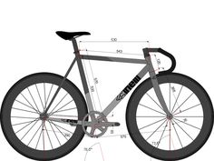 This bicycle model was contributed to the BikeCAD Design Archive.  The Design Archive is a growing database of bicycle geometry that can be searched by brand, model, style, materials, size, model year as well as stack and reach.