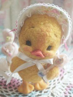 【ribo】♥ Felt Wool Doll