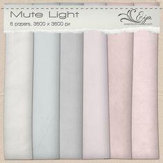 Mute Light paper pack by Eijaite.deviantart.com on @deviantART