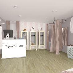 Interiorismo comercial Clothing Boutique Interior, Boutique Interior Design, Boutique Decor, Lingerie Store Design, Clothing Store Design, Store Interiors, Retail Interior, Closet Designs, Stores