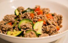 Hackpfanne mit Gemüse - Rezept - 21 Tage Stoffwechselkur