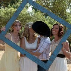 Country wedding photo ops