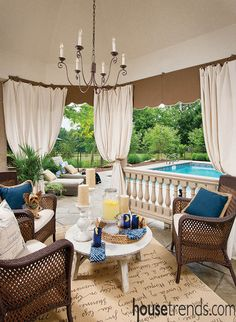 Outdoor rugs welcome guests and owners alike