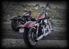 post pics of your sporty bobber - Harley Davidson Forums Sportster 883 Iron, Custom Sportster, Custom Bobber, Harley Davidson Forum, Harley Davidson Chopper, Harley Davidson Sportster, Motorcycle Types, Bobber Motorcycle, American Motorcycles