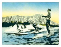 Sea Gods - Surf Riders, Waikiki $9.98