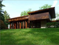 The Bachman Wilson House, 1954 - Frank Lloyd Wright
