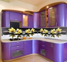 idées pour votre #projet de #cuisine. #bricolage #maison #decor Kitchen Cabinets And Cupboards, Kitchen Cupboard Designs, Kitchen Room Design, Luxury Kitchen Design, Kitchen Shop, Glass Kitchen, Kitchen Colors, Kitchen Decor, Modern Kitchen Interiors