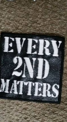 Every 2nd Matters Patch for Rifle Case Hat by BoormansCreations