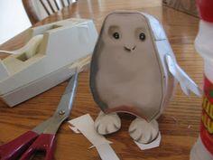 HunkyDorky: Doctor Who: Easy Adipose Paper Craft