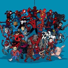 The Spider-Verse #spiderverse #spiderman  #spidey #comics  #comicbook #comic #marvel #marvelcomics