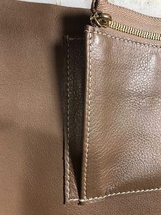 에르메스 버킨백st 가죽가방만들기 5주차 수업 : 네이버 블로그 Leather Bag Pattern, Step By Step Instructions, Birkin, Hermes, Zip Around Wallet, Handbags, Bag Tutorials, Madness, Molde
