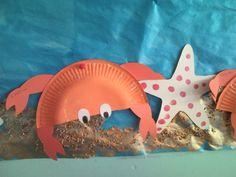καβουρας Summer Crafts For Kids, Summer Kids, Robinson Crusoe, Sea Crafts, Preschool Age, Creative Activities, Strand, Kids Playing, School Stuff