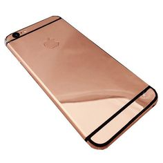 Goldstriker 18-Karat Rose Gold iPhone 6s ($4,850) ❤ liked on Polyvore featuring accessories, tech accessories, phone, phone cases, technology and items