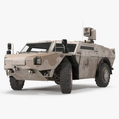 3D Model Fennek Kmw 4X4 Armoured - 3D Model
