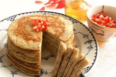 Banana Chia Seed Pancakes. Naturally sweet and filled with antioxidants, fiber, and protein!