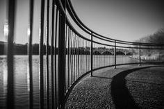 Meewasin View in Saskatoon, SK in black and white. Lens, Black And White, World, Prints, Black White, The World, Black N White, Lentils, Peace