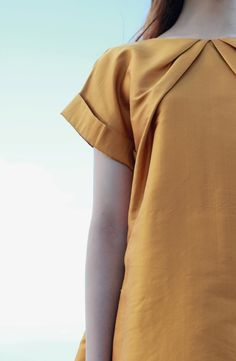 Golden Pleats by Randy Ortiz at MYTH.