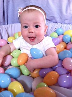 Easter Photo Shoot Idea for Babies