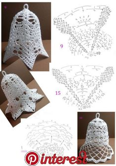Best 12 Tried the middle one with standard-sized crochet thread. Turned out horribly, and was extremely large and crowded. I think the – Page 343258802834501832 – SkillOfKing. Crochet Christmas Decorations, Crochet Ornaments, Crochet Decoration, Christmas Crochet Patterns, Holiday Crochet, Crochet Snowflakes, Crochet Chart, Thread Crochet, Crochet Motif