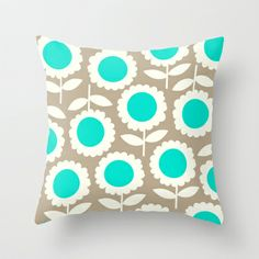 Turquoise Toss Pillows Turquoise throw pillow 100 polyester