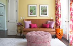 Adam Hunter + Chanel + Woman's office Adam Hunter, Decor Interior Design, Couch, Living Rooms, Design Ideas, Chanel, Furniture, Space, Decoration