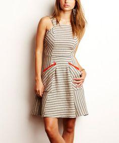 Hempstripe Tori Pocket Dress #zulily