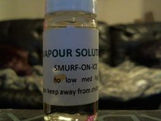 Vapour Solutions - Smurf on Ice - Juice Review