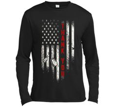 Thank You T-Shirt Memorial Day American Flag T-Shirt