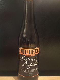 Muifel Zuster Agatha, houtgerijpt. 33cl, 10,5% www.muifelbrouwerij.nl