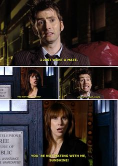 After Martha, I really appreciated the true humor that is Donna