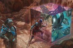 """cyrail: """"Grinder of Infinities - Numenera: Into the Outside by jubjubjedi Featured on Cyrail: Inspiring artworks that make your day better """""""
