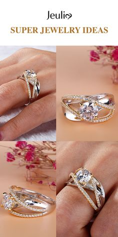 Ring Designs, Gold Engagement Rings, Wedding Rings, Wedding Band, Jewelry Rings, Fine Jewelry, Silver Jewelry, Jewelry Ideas, Wedding Jewelry