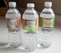 Articles in Tutorials - Hybrid: A Cherry On Top Baby Crafts, Cute Crafts, Creative Crafts, Crafts To Make, Personalized Water Bottle Labels, How To Make Labels, Cheer Gifts, Scrapbooking, Cherry On Top