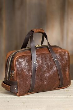 """""""Best backpack or duffel bag can make a gentlemen looks dapper, bring a nice vintage suitcase present a men's fashion style, that's only path to become a true gentlemen. A leather bags and older suitcase is basic elements of a true gentlemen. Leather Duffle Bag, Leather Briefcase, Duffel Bag, Tote Bag, Travel Accessories For Men, Leather Accessories, Leather Purses, Leather Handbags, Leather Bags"""
