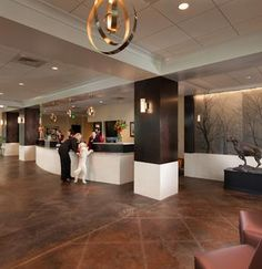 Olde Towne Pet Resort Dulles - Sterling Virginia - Check In/Out Area by Animal Arts Design Studios Dog Boarding Kennels, Pet Clinic, Animal Clinic, Pet Hotel, Pocket Pet, Pet Resort, Hospital Design, Dog Daycare, Pets