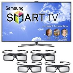 """60"""" Samsung Smart TV - 3D - Still haven't figured out how to use all the fancy features.  Too many remotes"""