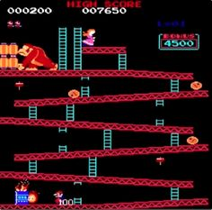 Geeks and Nerds only — Donkey Kong Nintendo 1981 1980s Childhood, My Childhood Memories, Best Memories, Donkey Kong, Retro Videos, Retro Video Games, Super Nintendo, Wii U, Modern Games