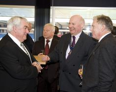 Jim Tassell, West of Scotland Branch Chair, chatting to other delegates at the Certificate of Merit Awards