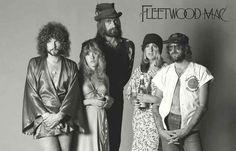 A great poster of Fleetwood Mac - Lindsey Buckingham, Stevie Nicks, Mick…