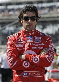 dario franchitti...so sorry to see you leave the Indy Car circuit but so much better safe than sorry.  Much love to you!
