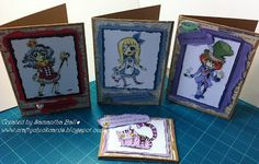 Craftychick Cards: Spesch Designer Stamps - Alice in Zombieland Digital Stamps by Max.