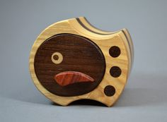 Bandsaw Box Wooden Jewelry Box Casket Wooden by Korwinshop on Etsy