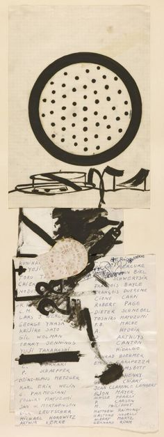 'Fluxus-Name List', Joseph Beuys | Tate