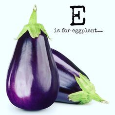 Also known as aubergine these beautiful fruit come in a variety of different colours. Did you know it's a relative of the tomato and potato?! It even has its own emoticon- so it must be pretty delicious!   Fun facts food craft & recipe inspiration link in bio & below  This A  Z of Fruits and Vegetables is designed to educate inspire and engage.  Its for little ones who have negative associations towards foods and for caregivers who are at their wits end with mealtimes.  Each letter of the…