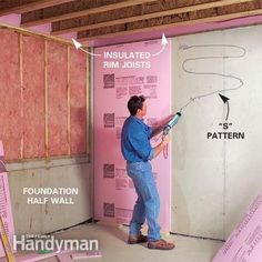 How To Finish A Basement: Framing And Insulating Photo Gallery