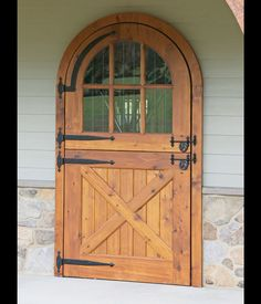 awesome wooden dutch doors. Finch - This would be pretty for our backyard…