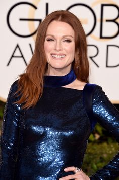 Julianne Moore aux Golden Globes 2016