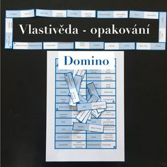 Produkt - Vlastivěda - opakování - domino It Cast, Teaching, Education, Author, Onderwijs, Learning, Tutorials