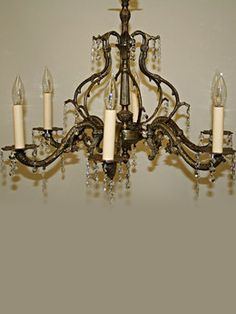 Vintage Lighting Accessories Restoration Gallery