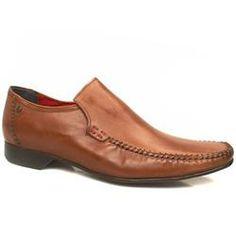 Base London Male Verve Loafer Leather Upper in Tan . . .sahi hai bhai